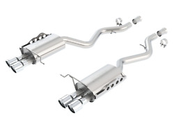 Borla 08-13 Bmw M3 Coupe 4.0l V8 Rwd Exhaust Rear Section Only 11764
