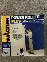 Wagner Power Roller Electric Painting Pump System 959 New In Box As Pictures