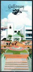 Holy Bull And Cigar - 1995 Olympic And Donn Handicap Horse Racing Programs Lot Of 2