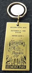 Unbridled - 1990 Breeders Cup Horse Racing Key Ring Depicting Admission Ticket