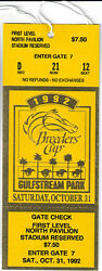 1992 Breeders Cup Horse Racing Admission Ticket - Unused - A P Indy