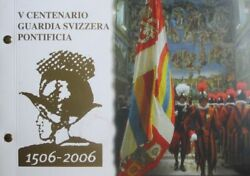 Vatican 2 Euro 2006 500 Years Swiss Guard Philatelic Numismatic Cover Pnc