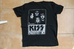 Kiss T-shirt Owned And Worn By Slash Of Guns Nand039 Roses And Velvet Revolver Guitar