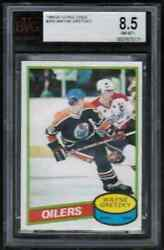 1980 81 Opc O-pee-chee 250 Wayne Gretzky 2nd Year Bvg 8.5 Nm-mt+ The Great One