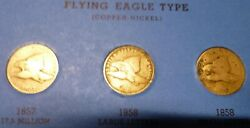 54 Indian Head And Flying Eagle Cents 18571909libertyand039s Showing On 21 Coinslook