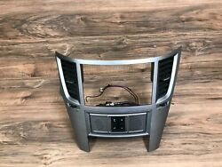 Subaru Oem Legacy Outback Front Cd Player Radio Stereo Panel Face Cover 10-14