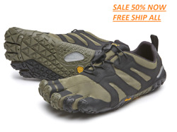 Womenand039s Fivefingers V-trail /running In Nature On Trails.