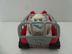 Fisher Price Yeti In Snowmobile + Figure And Sledge - 1996 Vintage Snowman