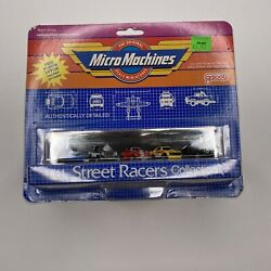 Vintage 1988 Galoob Micro Machines 11 Street Racers Collection