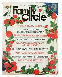 Vintage June 1967 Family Circle Women's Magazine Old Ads 1960s Articles