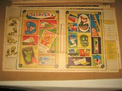 Topps Card Batty Book Covers 5 Wacky Packages 1969 Ugly Stickers Bazooka Gum