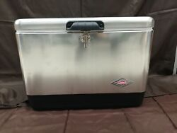 Coleman Bbq Related Steel Belt Cooler 54qt From Japan