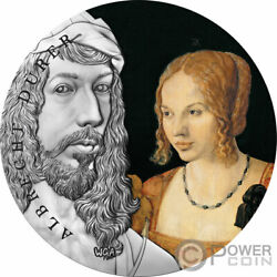 Albrecht Durer Worlds Greatest Artists 2 Oz Silver Coin 10 Cedis Ghana 2021