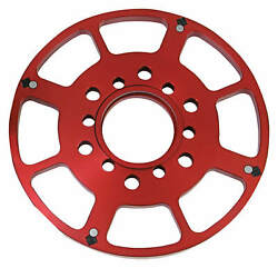 Msd Red Crank Trigger Wheel Small Block Chevy 7 Flying Magnet Centering Ring