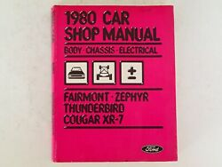 Ford 1980 Car Shop Manual - Body Chassis Electrical, Vehicle Auto Repair