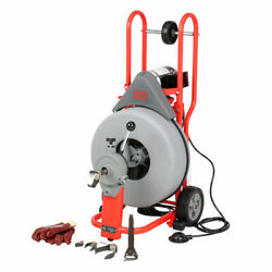 Ridgid 42007 K-750 Drain Cleaner With Autofeed And C-100 Cable