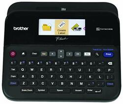 Brother P-touch Label Maker Pc-connectable Labeler Ptd600 Color Display High-...