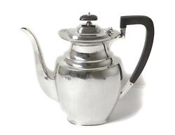 Sterling Silver Coffee Pot. England, Sheffield, Year 1944, Atkin Brothers.