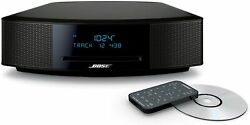 Bose Wave Music System Iv With Remote Cd Player And Am/fm Radio-black Silver-new