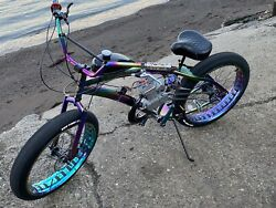 Fat Tire Motorized Bicycle
