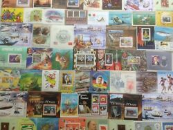 300 Different World Mini-sheets/souvenir Sheets Stamp Collection