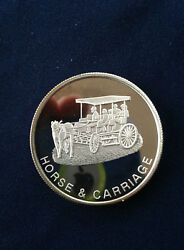 1991 Ace Hardware Horse And Carriage New Orleans 1991 Fall Show Silver Medal E4135