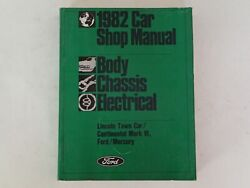 Ford 1982 Car Shop Manual - Body Chassis Electrical, Vehicle Auto Repair
