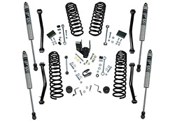 18-19 For Jeep Wrangler Jl Unlimited 4in Dual Rate Coil Lift Kit- Incl Rubicon W
