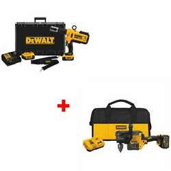 Dewalt Dce200m2 20v Max Copper Pipe Crimping Tool With Free Drill Kit