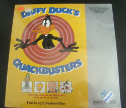 New Sealed Daffy Duck's Quackbusters Laserdisc Cartoon Film Extended Play Ld