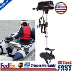 Hangkai 48v Electric Boat Engine Brushless Outboard Trolling Motor 2200w Top Us