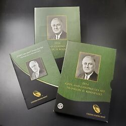 2014 Coin And Chronicles Fdr Franklin D Roosevelt Set Coins And Medals Ogp