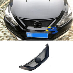 For Nissan Altima Teana 2016-2018 Resin Front Upper Bumper Mesh Grill Grille 1pc