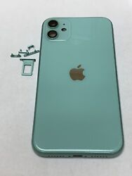 Iphone 11 100 Oem Original Back Housing With Sim Trey/buttons Green