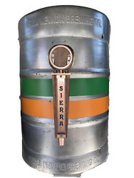 """Large Sierra Nevada Real Keg Tap Handle Display Sign Bar Appx 23.25"""" X 16.5"""""""