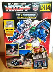 Takara Transformers Fortress Maximus C-114 Vintage Toy Very Rare Car Collection