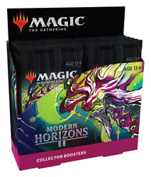 Modern Horizons 2 Collector Booster Box - Mtg Magic The Gathering - Brand New