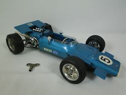 Schuco 1074 Matra Ford Formel 1 Scale 116 Wind Up Toy Race Car Works
