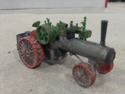 Custom Weathered 1/64 Case Steam Tractor On Steel Style Wheels