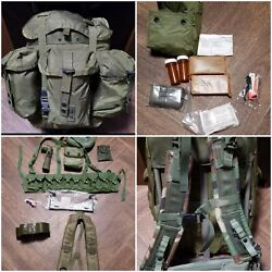 Us Military Alice Pack Medium Complete Assembled Many Must Have Included.