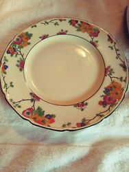 L👀k Antique Royal Doulton 1920and039s Pattern H2774 Scalloped 9 Plates Set Of 12