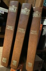 1980 Complete 3 Volume Set The Illustrated Bible Dictionary
