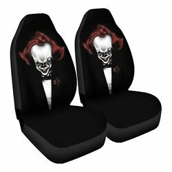 The Clown Father Car Seat Covers Nerdy Geeky Pop Culture Set Of 2 Front Seat
