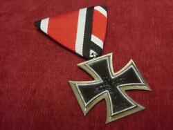 Military Items German/federal Army Iron Cross Medal The 2nd Grade Nearly Unused