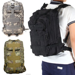 Tactical Military Assault Pack Backpack for 30L Outdoor Trekking Hunting Camping $22.98