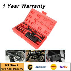 Bicycle Chain Breaker And Riveting Rivets Tool Tested Kit Fit Break Cut Motorized