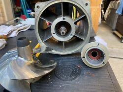 Kawasaki Jet Pump Jht10a - The Bearing Are Very Smooth. Housing Has Scraches.andnbsp