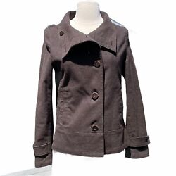 Beauty And Youth United Arrows Jacket Brown Cotton Wool Size M