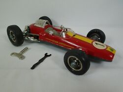 Schuco 1071 Lotus Formel 1 Key Scale 116 Wind Up W/ Key And Wrench Toy Car Works