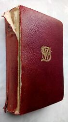 The Works Of William Shakespeare Antique Leather 1900 Rare Norman Bros Edition